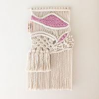 direct source factory macrame wall hanging woolen tapestry textile weaving wall decor
