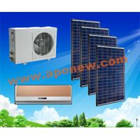 100% 48V/24V Solar powered air conditioners