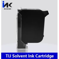 Alternative TIJ solvent ink cartridge for hp technology printer