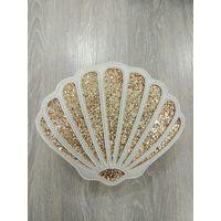 Seashell Shaped glitter Cross Body Bag waist Bag Clutch Bag Girls Messenger Handbag