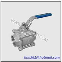 3PC LIGHT DUTY THREAD BALL VALVE(HV-31)