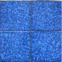 150x150mm Cobalt blue swimming pool ceramic Glazed tile thumbnail image