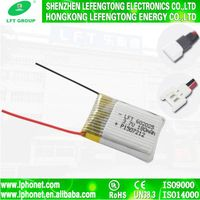 3.7v li-ion 180mah 062025 polymer rechargeable battery 602025 for helicopter