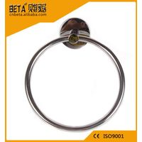OEM ODM custom stainless steel hotel bathroom towel ring