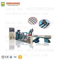 Fridge door gasket magnet strip tape extruder and inserting machine