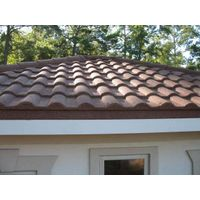 Roof Use and New Condition Stone Coated Metal Roofing Tile