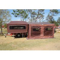 High Quality New Korean Style Trailer Tent Trailer Camp Trailer