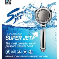 PR-SUPER JET PURE RAIN SHOWER HEAD