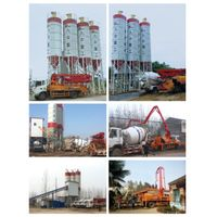 New mini concrete batching mixing plant Model HZS60 for sale