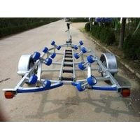 Solid Round Axle without Brake Boat Trailer