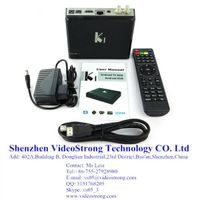 KI Amlogic S805 Quad core OTT DVB S2+T2 Hybrid TV box