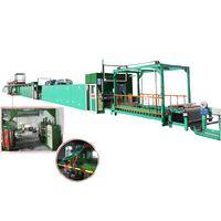 PU eco-friendly non-solvent leather machine line