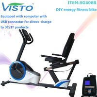 Self-Generation Upright Bike Magnetic Bike recumbent bike