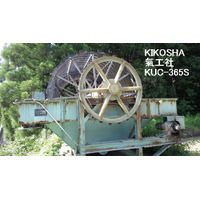 "USED ""KIKOSHA"" BRAND MODEL KUC-365S SAND CLASSIFIER WITH SUMITOMO CYCLO GEAR MOTOR & URAS MOTOR."