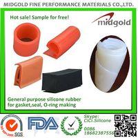 General purpose silicone rubber for industrial profiles