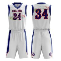 Custom basketball jersey sublimation printing basketball uniforms set thumbnail image