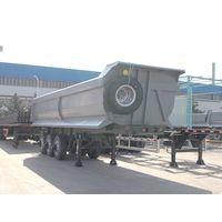 China tipper semi trailer | tipping semi trailer | tipping trailer | tipper trailer | tipping semi t thumbnail image