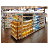 light box for supermarket shelving