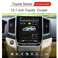 12.1 inch android large screen gps navigation for Toyoto land cruiser 2016