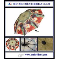 All sexy lady picture print fold umbrella design , customised umbrella odm