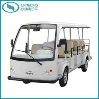 CE Electric Car Tourist Coach Sightseeing Shuttle Bus 14 Seats (LQY140A)