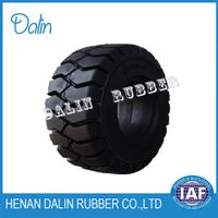 gun spongy solid tyre 6.50-20