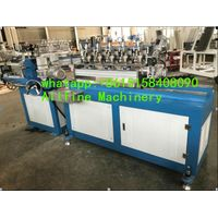 high speed paper drinking straw making machine multi cutters full automatic small paper tubes color