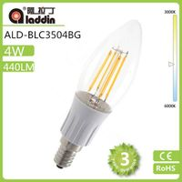 NEW!!! 220-240vac 4W led filament bulb dimmable light replace edison bulb
