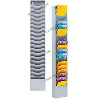 Sorti 20 slim steel magazine rack