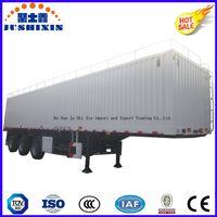 3 Axle 50t Bulk Cargo/Utility Truck Trailer/Cargo Box Semitrailer