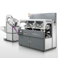 Fully Auto Tube Printer Two Color Screen-printing Machine for Round Lipsticks