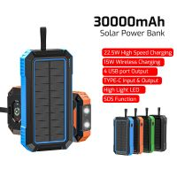30000mAh Solar Power Bank