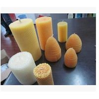 Beeswax art candle