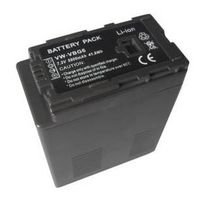 Camera battery for Panasonic/VW-VBG6, 5800mAh, 7.2V