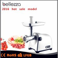 home Electrical commercail meat mincer with 8840 pure copper motor