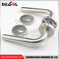 Chinese wholesale stainless steel residential french style door handles