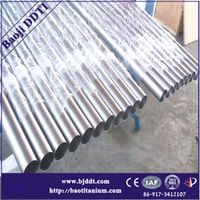 ASTM B338 titanium seamless tube grade 9 stock for sale