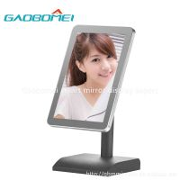 Gaobomei Small size AD Smart Mirror 2016 newest magic mirror advertisement for cosmetics shop