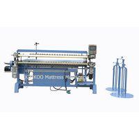 Semi-auto mattress bonnell spring assembling machine