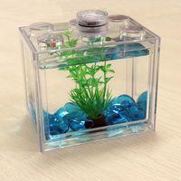 Home Decoration Mini Fish Tank Aquarium wholesales,kryplasticcraft.com