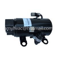 DC Powered Truck Air Conditioner dc motor dual cylinder compressor