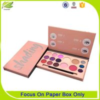 2017 Custom luxury cardboard eyelash packaging box