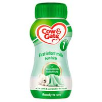 Cow & Gate First Infant Milk Ready to Drink thumbnail image