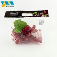 Custom size food grade recycled opp plastic packaging bag for fruit thumbnail image
