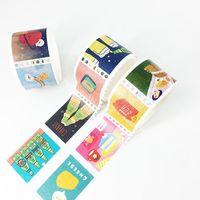 Custom Waterproof Postage Stamp Washi Tape Shrink Wrap for kids