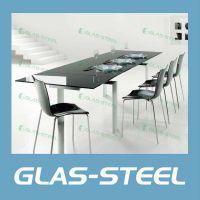 Glas-Steel Extension Dining Table BT253