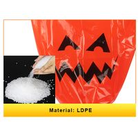 Halloween Party Decoration Yard Plastic Leaves Trash Bags for Holiday thumbnail image