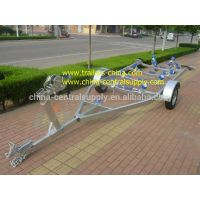 5.5m boat trailer with roller system