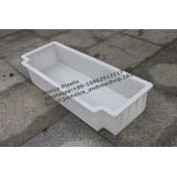 plastic mold for precast curbstone