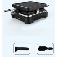 2 in 1 Raclette grill Barbecue grill